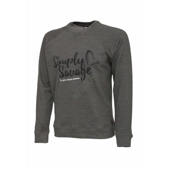 SAVAGE GEAR Simply Savage Sweater Melange Grey XXL