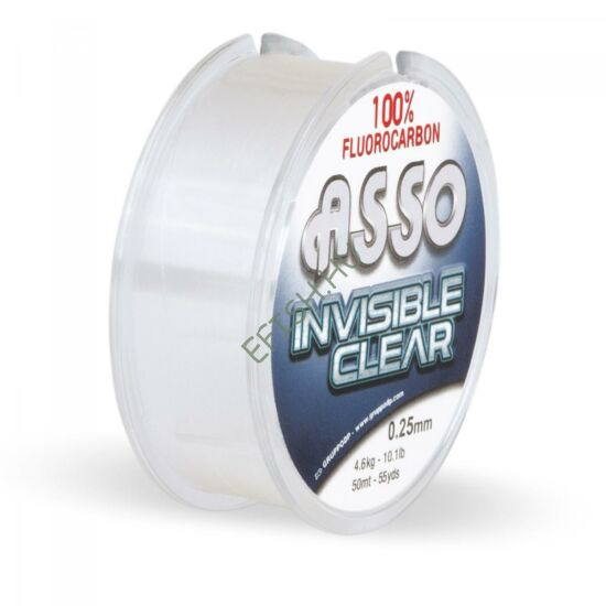 ASIC60 ASSO INVISIBLE CLEAR F.CARBON 30M 0,60