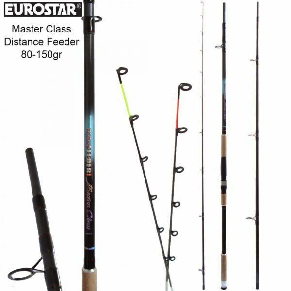 EUROSTAR MASTER CLASS DISTANCE FEEDER BOT 80-150G 4,2m 3+2