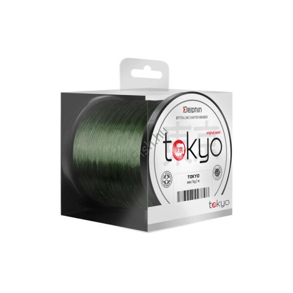 Monofil Delphin TOKYO zöld-0,33mm 18lbs 1100m Damil