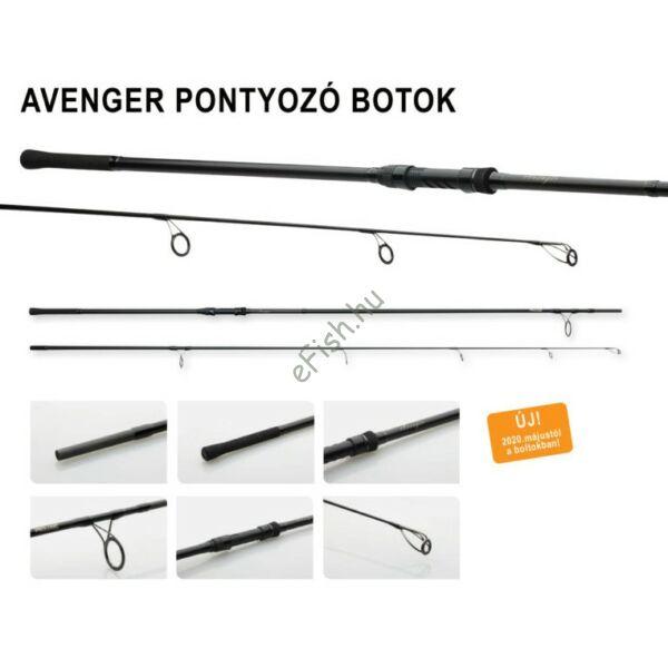 Prologic C1 AVENGER 360cm-3.75 lbs 2 részes pontyozó bot